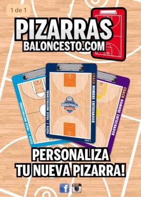 Personaliza tu pizarra de baloncesto